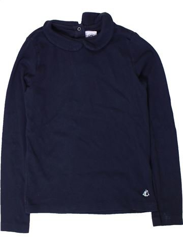 Camiseta de manga larga niña PETIT BATEAU azul 8 años invierno #1402063_1
