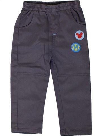 Pantalon garçon DISNEY gris 2 ans hiver #1402081_1