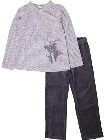 Pijama de 2 piezas niña ABSORBA azul 6 años invierno #1402103_1