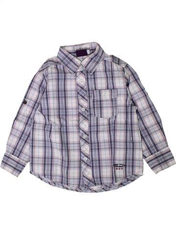 Chemise manches longues garçon SERGENT MAJOR gris 3 ans hiver #1402132_1