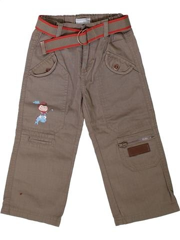 Pantalon garçon KIMBALOO marron 2 ans hiver #1402149_1