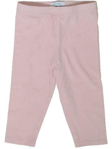Legging niña OKAIDI rosa 9 meses invierno #1402150_1