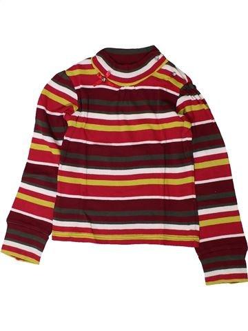 T-shirt manches longues fille MARÈSE beige 6 ans hiver #1402174_1