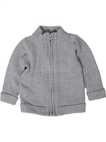 Chaleco niño TAPE À L'OEIL gris 9 meses invierno #1402204_1