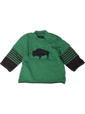 Camiseta de manga larga niño GRAIN DE BLÉ verde 3 meses invierno #1402225_1