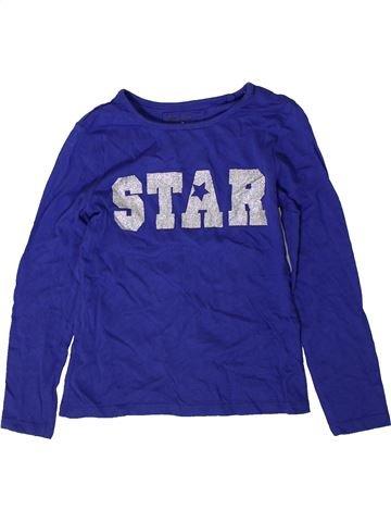 T-shirt manches longues fille TU bleu 7 ans hiver #1402254_1