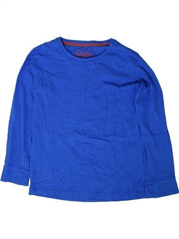 T-shirt manches longues garçon MATALAN bleu 9 ans hiver #1402345_1