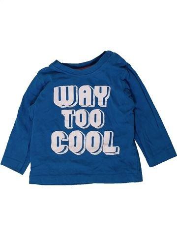 Camiseta de manga larga niño NUTMEG azul 9 meses invierno #1402366_1