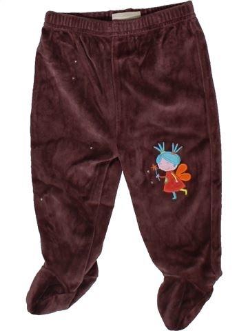 Pantalon fille DPAM marron 6 mois hiver #1402446_1