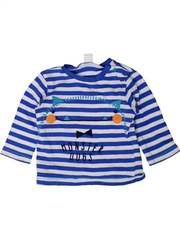 Camiseta de manga larga niño MINI CLUB azul 6 meses invierno #1402453_1