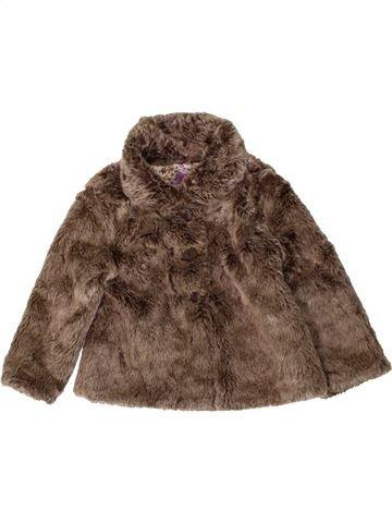 Veste fille F&F marron 3 ans hiver #1402515_1