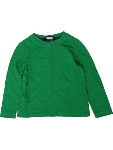 Camiseta de manga larga niño GEORGE verde 18 meses invierno #1402533_1