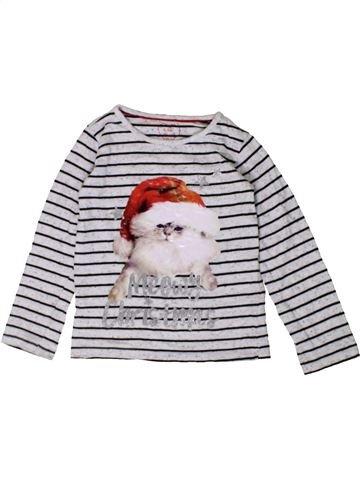Camiseta de manga larga niña E-VIE ANGEL blanco 4 años invierno #1402593_1