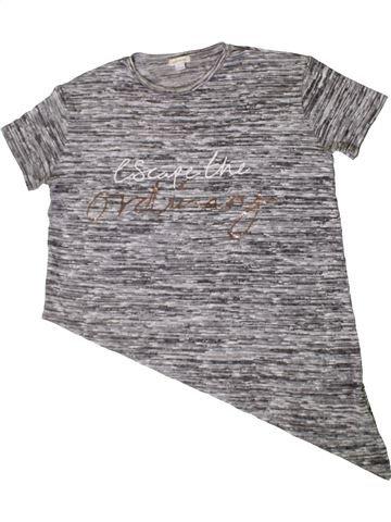 Camiseta de manga corta niña RIVER ISLAND gris 12 años verano #1402609_1