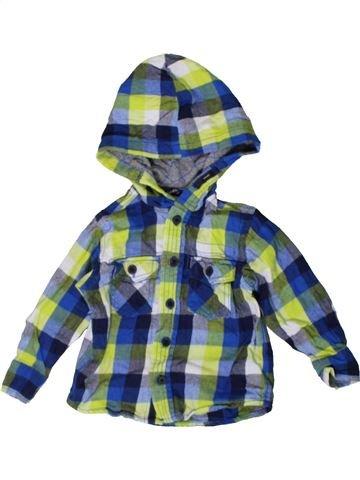Camisa de manga larga niño GEORGE azul 18 meses invierno #1402611_1