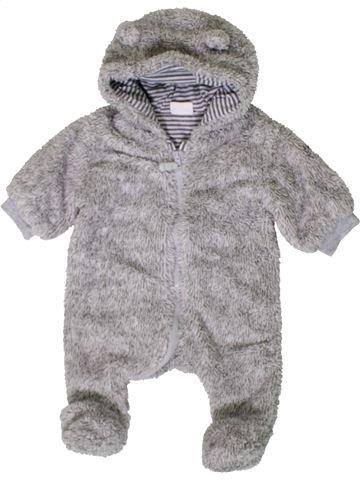 Robe de chambre garçon F&F gris 1 mois hiver #1402631_1