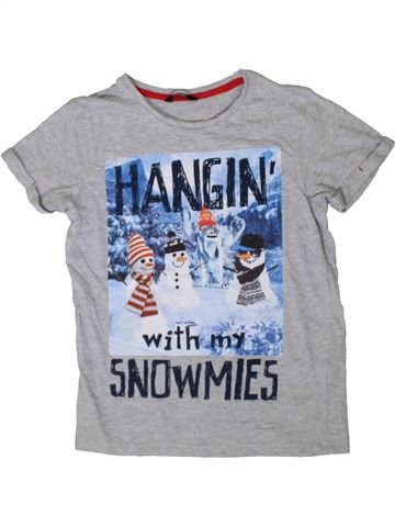 Camiseta de manga corta niño GEORGE azul 10 años verano #1402634_1