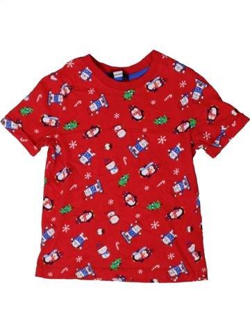 Camiseta de manga corta niño GEORGE rojo 5 años verano #1402663_1