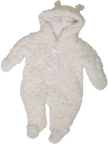 Combi-Pilote fille PITTER PATTER blanc 3 mois hiver #1402679_1