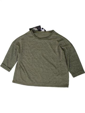 Camiseta de manga larga niña NEW LOOK verde 11 años invierno #1402716_1