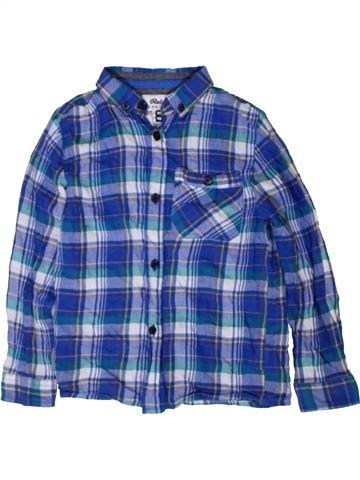 Camisa de manga larga niño PRIMARK azul 7 años invierno #1402792_1