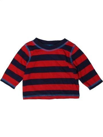 T-shirt manches longues garçon GEORGE violet 1 mois hiver #1402802_1