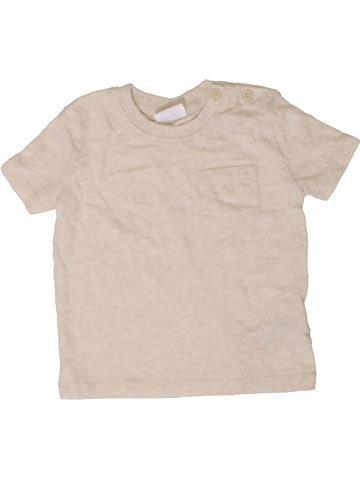 Camiseta de manga corta niño F&F beige 9 meses verano #1402828_1