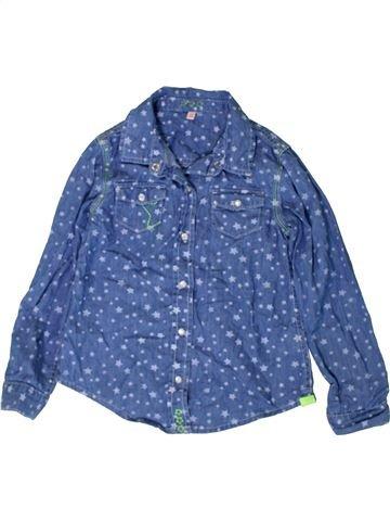 Blusa de manga larga niña MARKS & SPENCER azul 6 años invierno #1402847_1