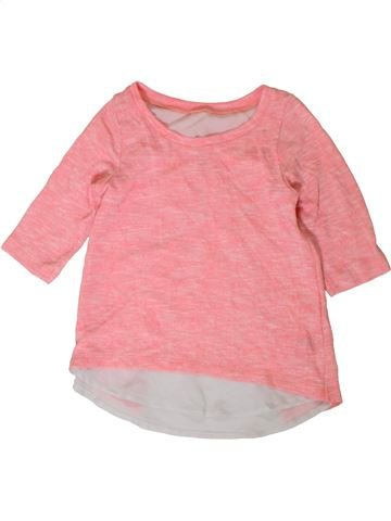 T-shirt manches longues fille DUNNES STORES rose 9 ans hiver #1402853_1