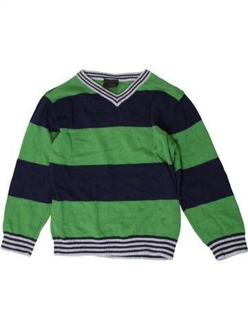 Pull garçon NEXT vert 4 ans hiver #1402881_1