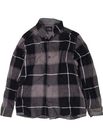 Chemise manches longues garçon NEXT noir 7 ans hiver #1402887_1