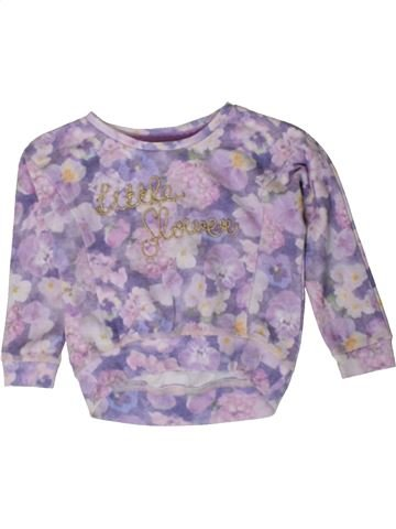 Sweat fille GEORGE violet 2 ans hiver #1402915_1