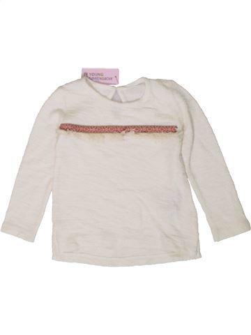 Camiseta de manga larga niña PRIMARK blanco 3 años invierno #1402947_1