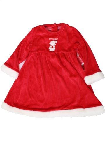 Vestido niña MATALAN rojo 2 años invierno #1402948_1