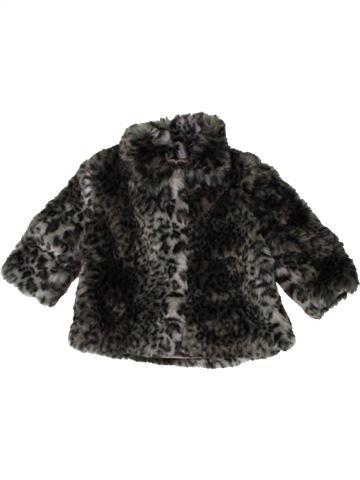 Veste fille F&F noir 6 mois hiver #1402949_1