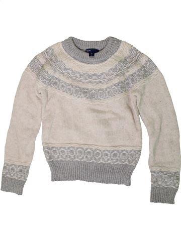 jersey niña GAP blanco 10 años invierno #1402953_1