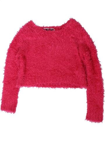 Pull fille DUNNES STORES rose 8 ans hiver #1403066_1