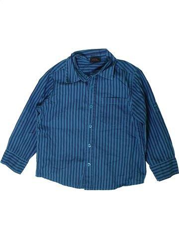 Chemise manches longues garçon NEXT bleu 4 ans hiver #1403155_1