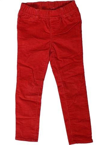 Pantalon fille GAP rouge 4 ans hiver #1403174_1