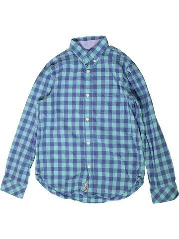 Chemise manches longues garçon H&M bleu 11 ans hiver #1403268_1