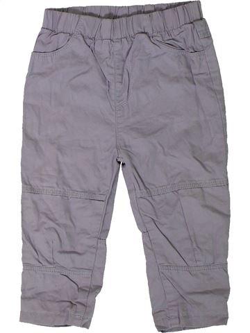Pantalon garçon GEORGE gris 18 mois hiver #1403341_1