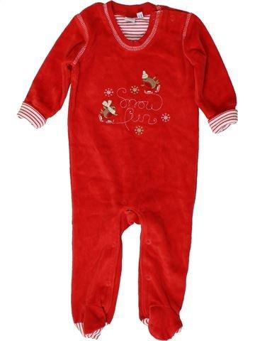 Pyjama 1 pièce unisexe DEBENHAMS rouge 1 mois hiver #1403384_1