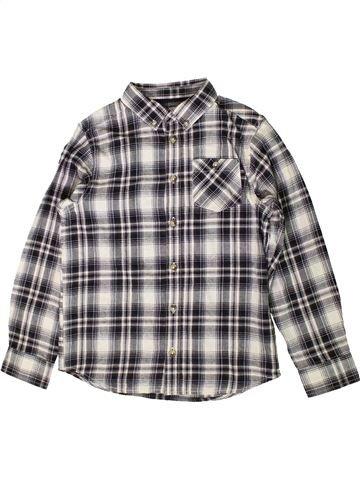 Chemise manches longues garçon MATALAN gris 9 ans hiver #1403448_1