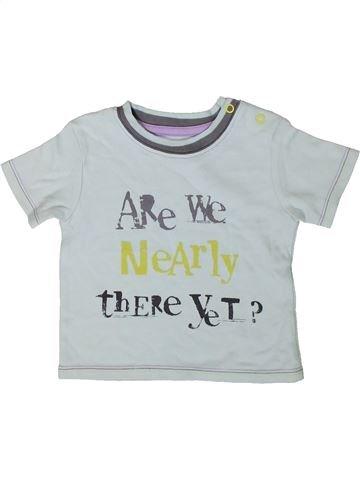 Camiseta de manga corta niño GEORGE gris 6 meses verano #1403459_1