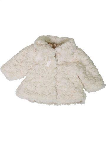 Veste fille GEORGE blanc 3 mois hiver #1403536_1