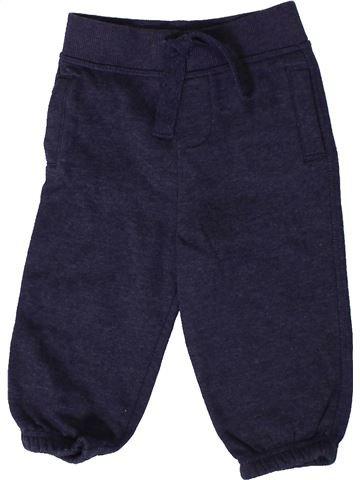 Pantalon garçon MATALAN bleu 12 mois hiver #1403611_1