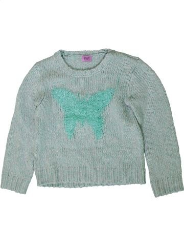Pull fille F&F gris 5 ans hiver #1403670_1