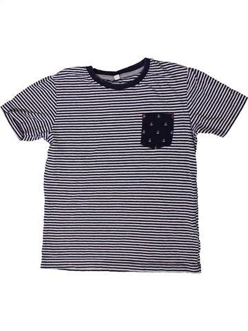 Camiseta de manga corta niño MARKS & SPENCER gris 5 años verano #1403727_1