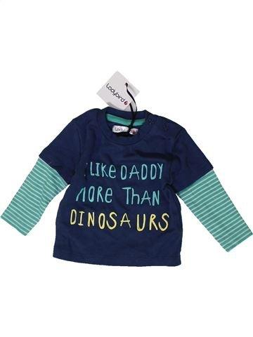 Camiseta de manga larga niño LADYBIRD azul 3 meses invierno #1403732_1