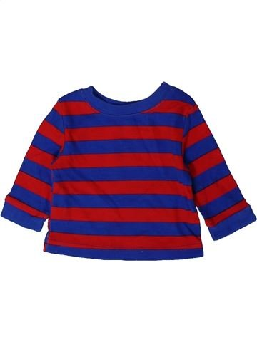 T-shirt manches longues garçon GEORGE bleu 1 mois hiver #1403809_1